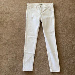 White Skinny Jeans- Like New